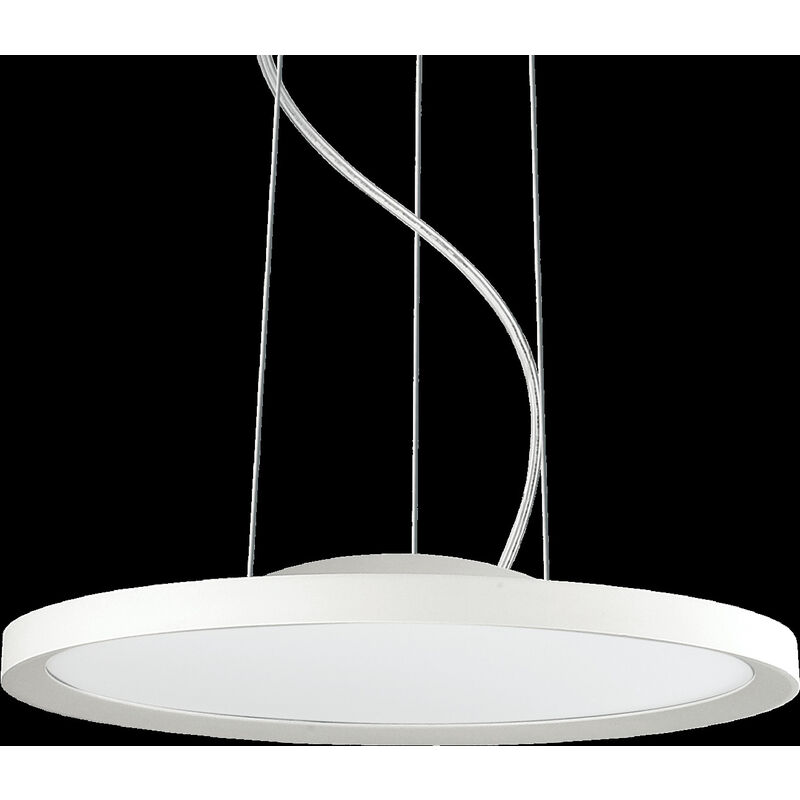 Lampada A Sospensione 50w Led Ideal Lux Bianco