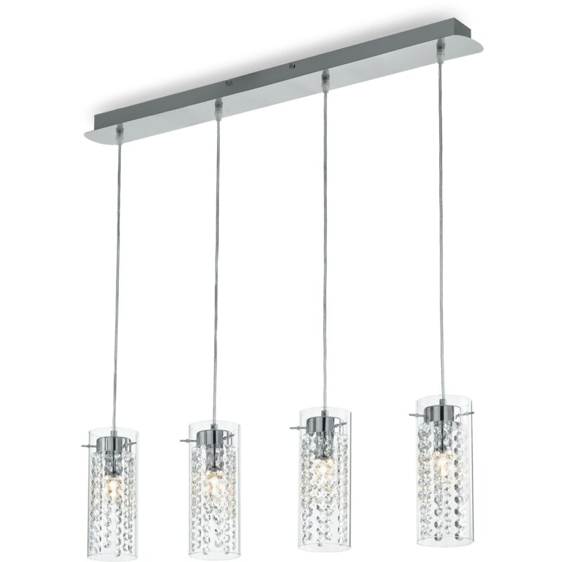 Ideal Lux - LAMPADA A SOSPENSIONE 4 LUCI IGUAZU' SP4