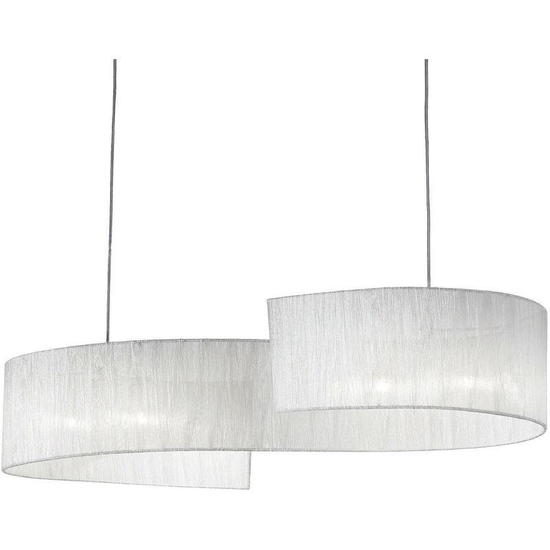 Lampada A Sospensione 4 X 40w G9 Ideal Lux Cromo