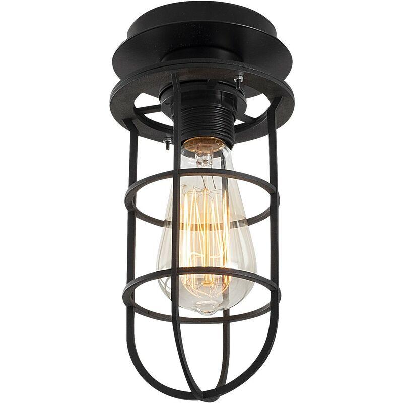 Lampada A Sospensione 'Kimil - N-1075' Nero 1xE27 Senza Lampadina [OPV-525NOR1495] (OPV-525NOR1495)
