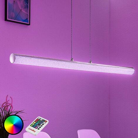 """main image of """"Lampada a sospensione LED RGB Fria, telecomando"""""""