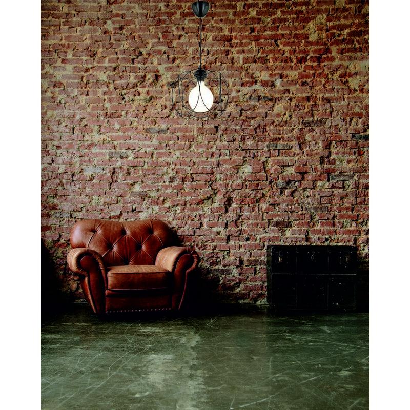 Homemania - Lampada a Sospensione Silindir - Lampadario - da Soffitto - Nero in Metallo, Plastica, 27 x 27 x 80 cm, 1 x E27, 60W