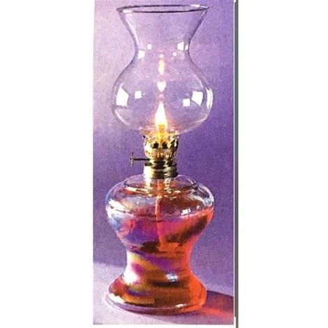 Lampada Ad Olio Modello Sofia Lume In Vetro 15549 L666w