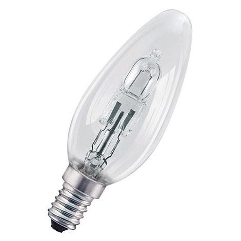 Lampada alogena halogen classic b e14 20 w 2700 k hclb20e14 for Lampada alogena