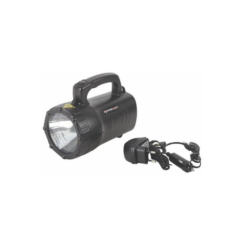 Lampada alogena LED portatile da cantiere