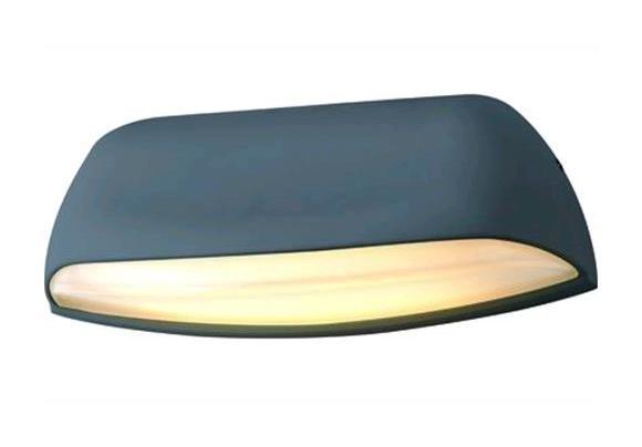 Lampada applique led vigor per esterni malaga alluminio w lm