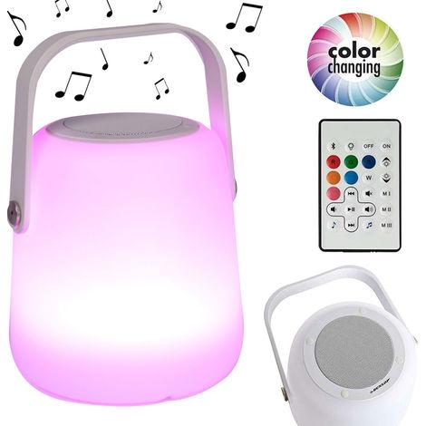 Lampada Cassa Speaker Altoparlante Bluetooth LED Luce Atmosfera Interno Esterno