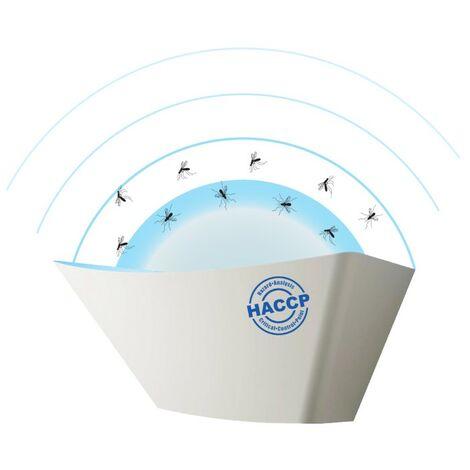 Lampada cattura insetti HACCP (mosche,zanzare,etc) professionale
