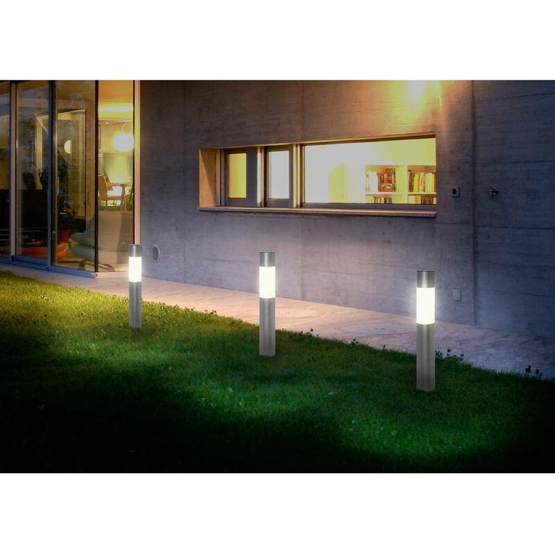 Lampada solare da giardino Polarlite Basis 50 PL-8220845 LED a montaggio fisso Potenza: 0.2 W Bianco freddo, Bianco