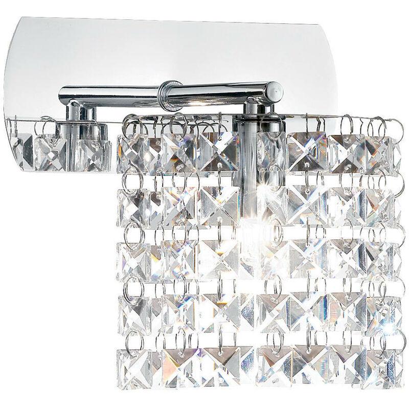Lampada Da Parete 40w G9 Cromo - Ideal Lux