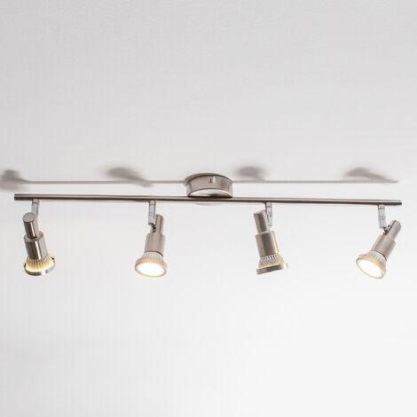 Lampada da soffitto LED a 4 fiamme Aron