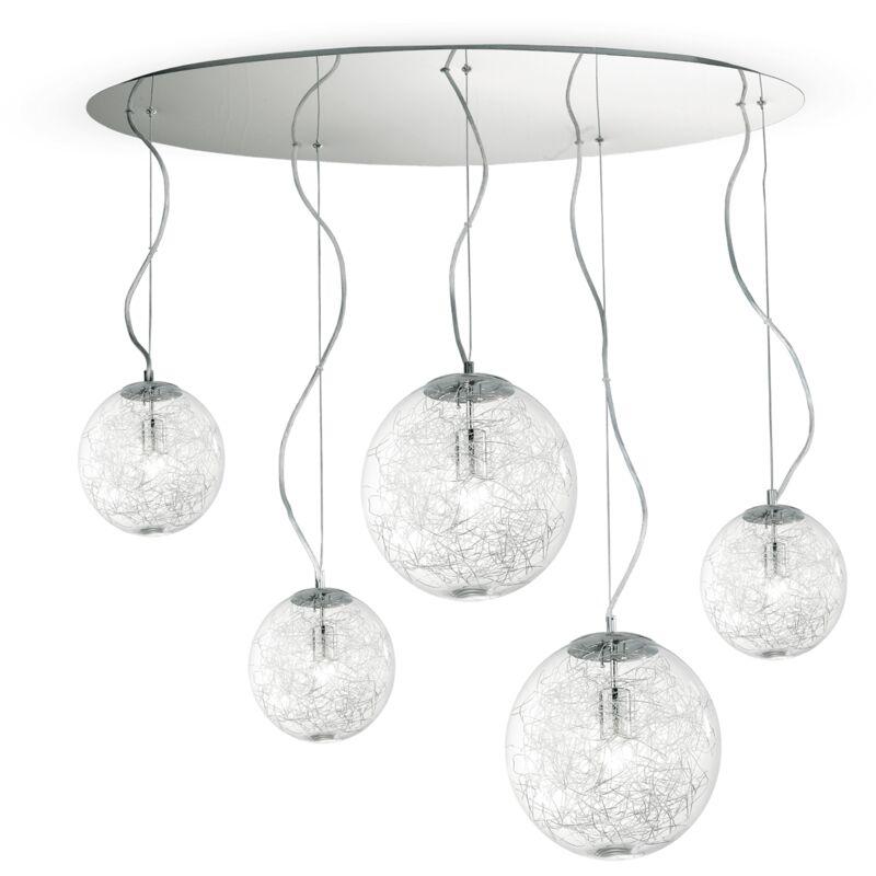 Ideal Lux - LAMPADA A SOSPENSIONE 5 LUCI MAPA MAX SP5