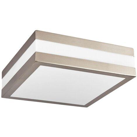 Lampada da soffitto per esterno quadrata Hana