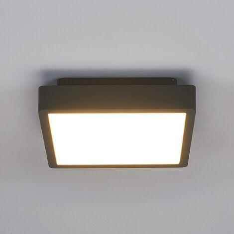 Lampada da soffitto Talea, angolare, a LED
