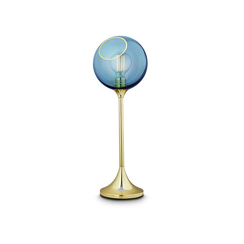 Greenice - Lampada Da Tavolo 'Ballroom Blue Sky' E27 Senza Lampadina (DBU-22756)