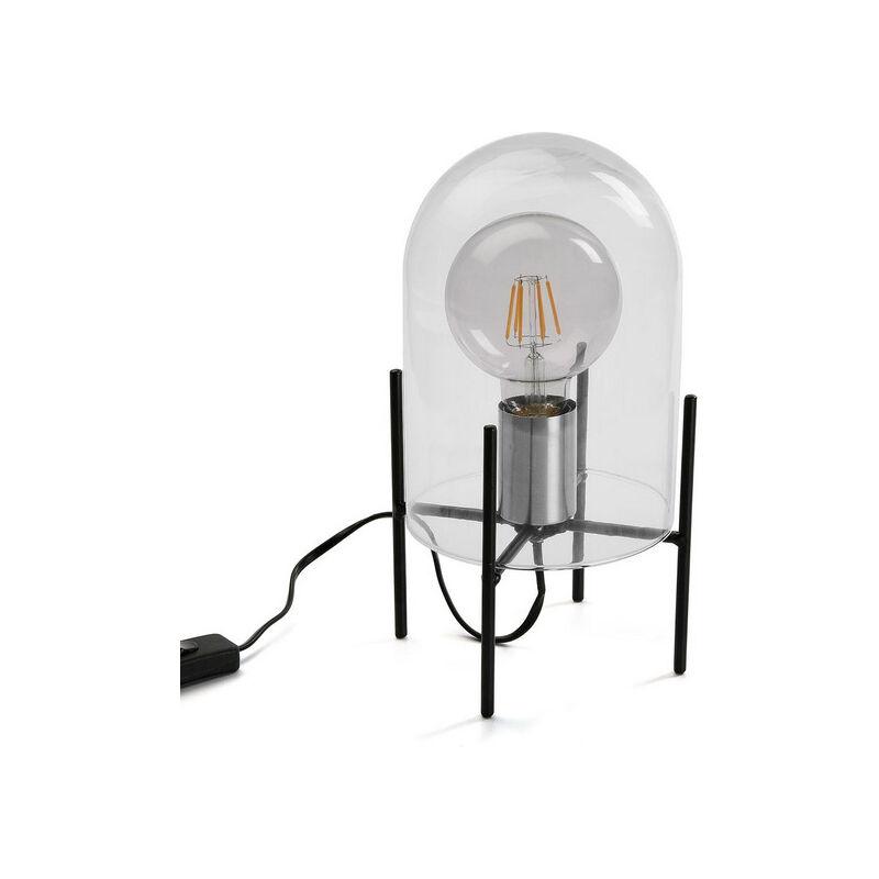 Lampada da Tavolo Claire Metallo (16,5 x 27 x 16,5 cm)