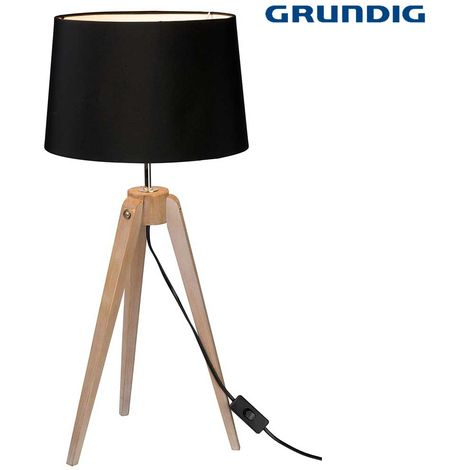 Lampada Da Tavolo Con Tre Piedi Grunding 64 x 29 cm Attacco E14 230V