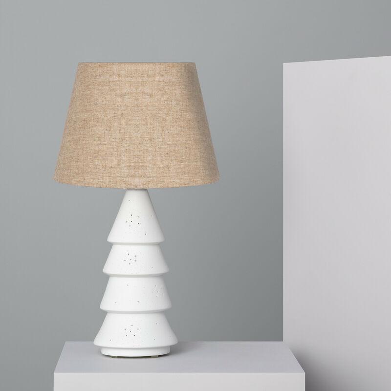 Ledkia - Lampada da Tavolo Everest Bianco