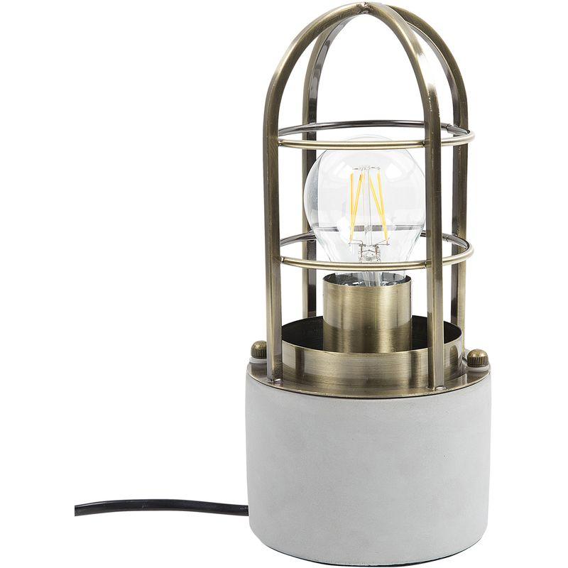 Lampada da tavolo in color ottone ALLYN - BELIANI
