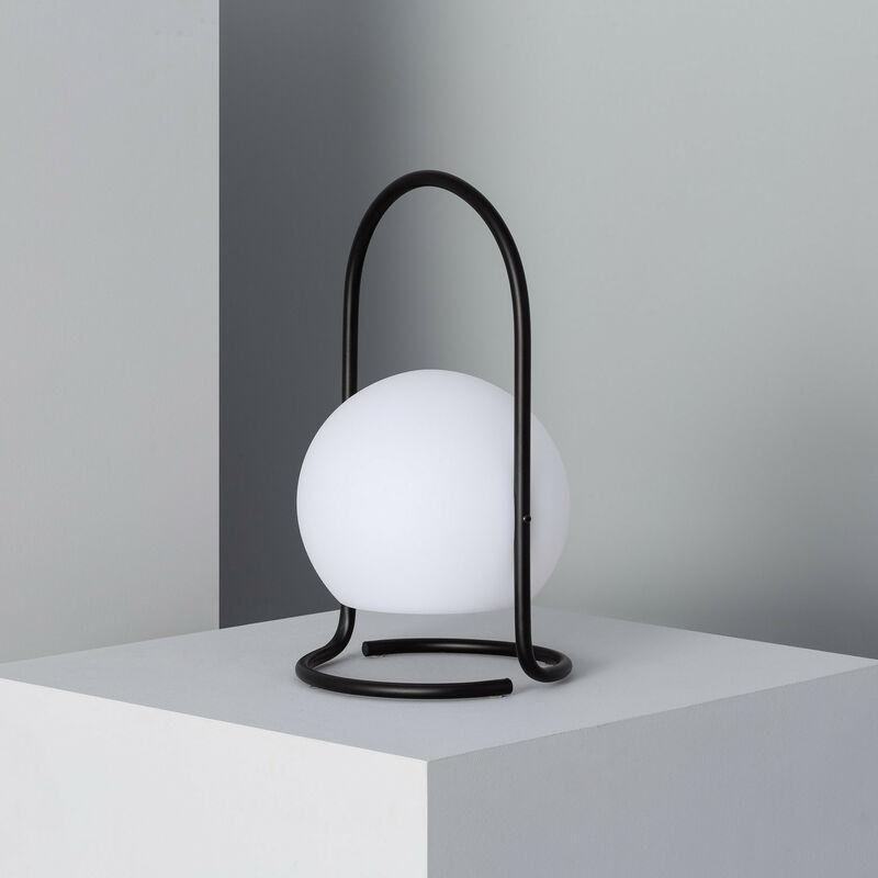 Ledkia - Lampada da Tavolo LED Mkono Nero