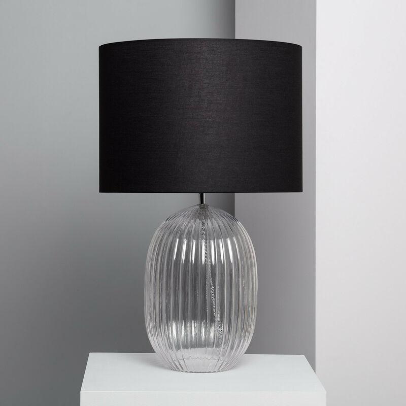 Ledkia - Lampada da Tavolo Menina Nero