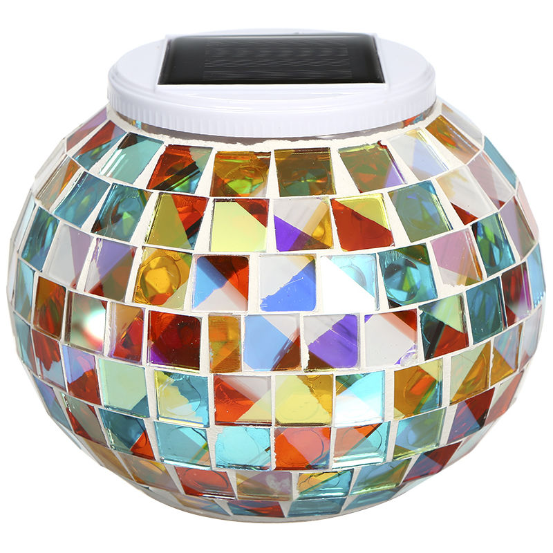 Lampada da tavolo solare, lampada da giardino per esterni decorazione natalizia - ASUPERMALL