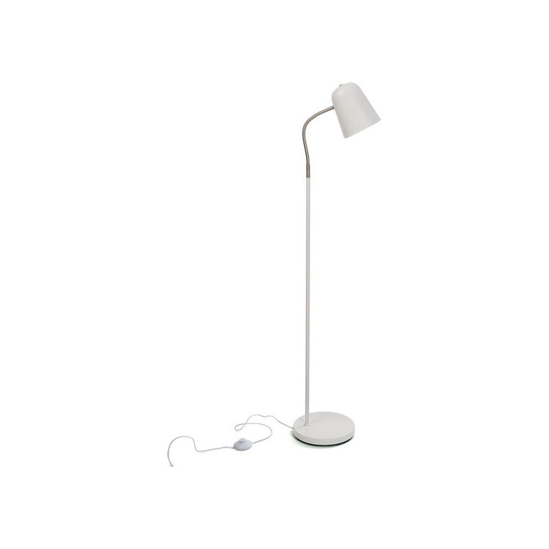 Cliccandoshop - Lampada da Terra Metallo (23 x 142 x 35 cm)