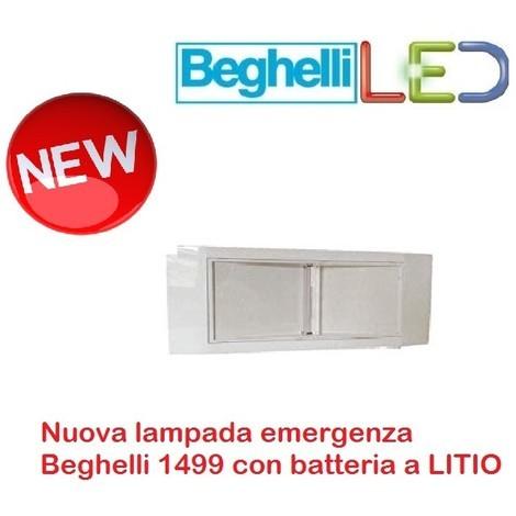 Catalogo Beghelli Lampade Di Emergenza.Lampada Emergenza Beghelli 1499l Con Batteria A Litio Nuovo Modello