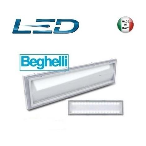 Lampade Emergenza Led Beghelli.Lampada Emergenza Beghelli Led 8584 18w Ip42 32led