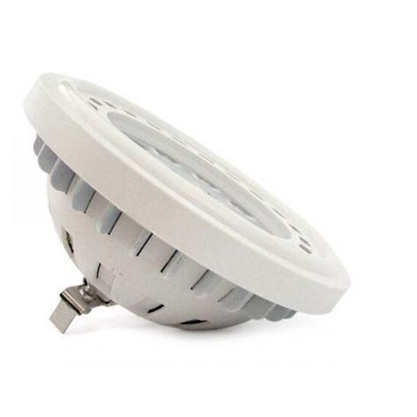 Lampada Per Faretto A Led.Lampada Faretto Led Da Incasso Ar111 G53 12w Dc 12v Bianco Caldo Spot 20 Gradi Angolo Stretto