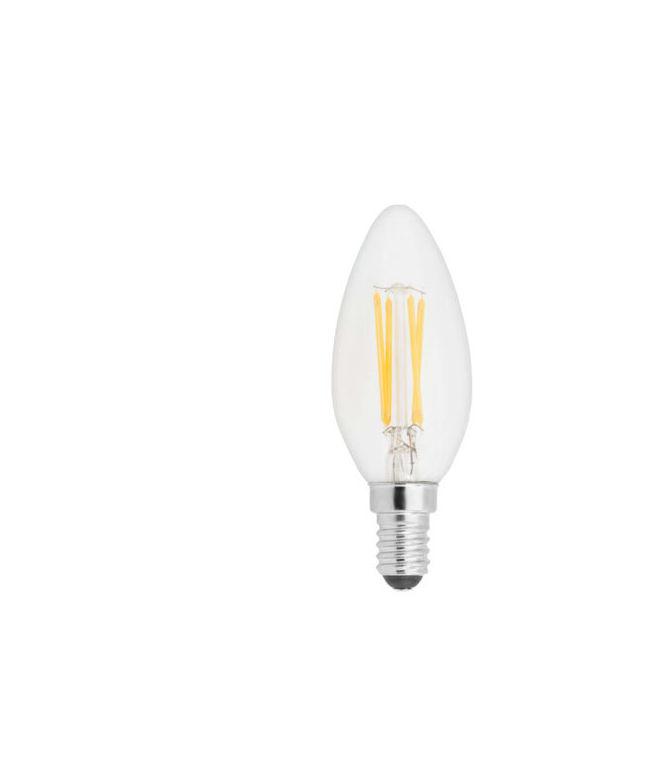 Lampada filoled 2,5W candela chiara E14