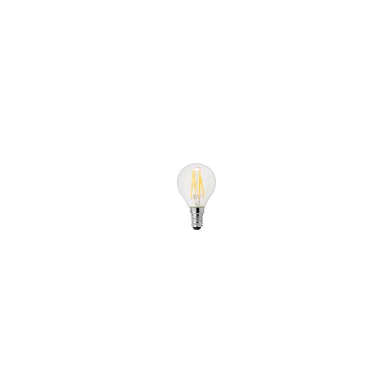 Ge Lighting - Lampada filoled 2,5W sfera chiara E14