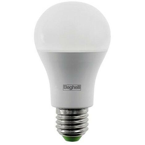 Lampada Goccia Beghelli SAVING 11W attacco E27 1055 Lumen 3000K 56873
