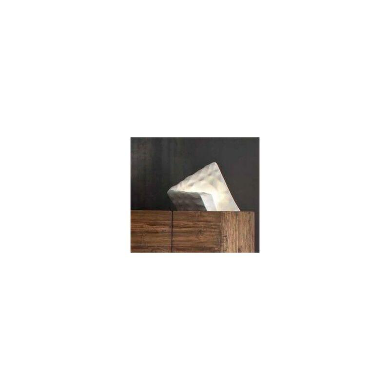 Lampada in Ceramica Sface 45x30x35 H. cm Elite - finitura: Piombo Opaco