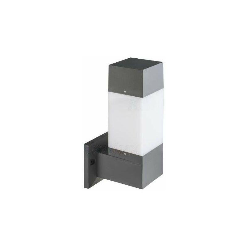 lampada invo 220-240 volt E27 IP54 esterno grafite parete plastica kan 29170