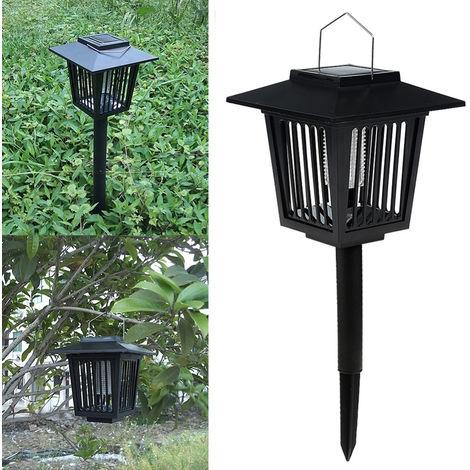 Lampada Killer per insetti a pannello solare ST GH-327