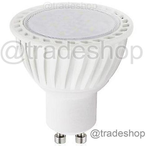 LAMPADA LAMPADINA FARETTO LED 5W 24 LED SMD ATTACCO GU10 LUCE BIANCA