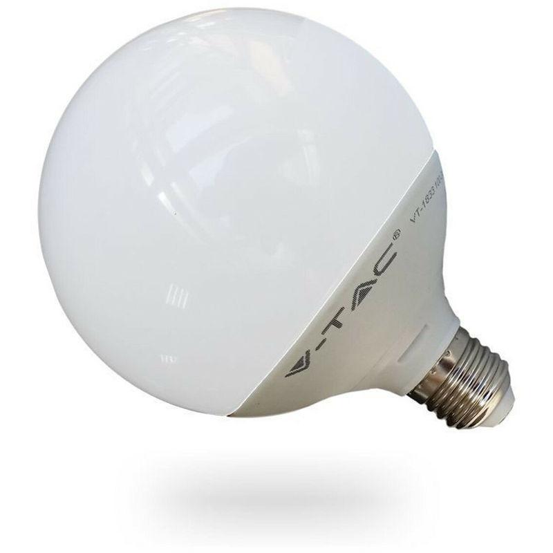 Lampada lampadina led globo sfera v-tac luce bianca fredda naturale e27 13w colore principale: bianco caldo 2700k - DRIWEI