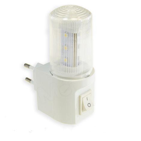 Lampada lampadina notturna decorativa punto luce soffusa led interruttore ON OFF