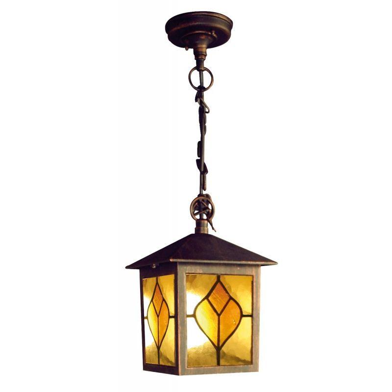 Lanterne Katty Chain - In alluminio pressofuso - Finitura Bronzo