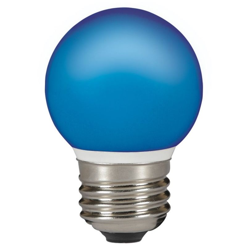TOLEDO OUTDOOR SFERA BALL IP44 BLUE E27 LED - Sylvania