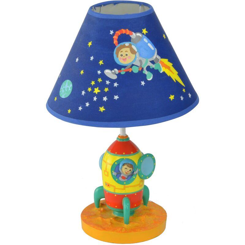 Lampada LED da tavolo comodino bambini Outer Space TD-12335AE - Fantasy Fields