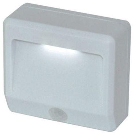 Lampada LED Faretto con Sensore Movimento Luce Notturna Segnapasso Esterno IP44