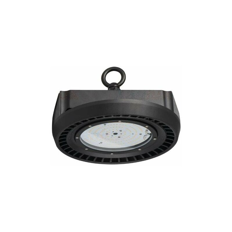 Kanlux - lampada led industriale 100 watt 220-240 volt CE IP65 bianco naturale interno nero kan 28530