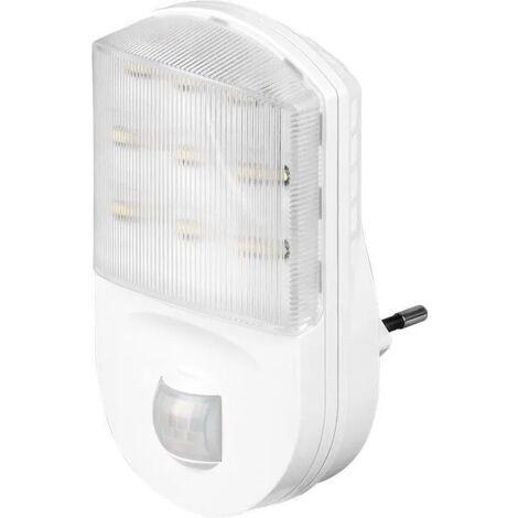 lampada led luce notturna con sensore di movimento 1 pezzo 120° 220-240 volt A+ CE bianco freddo di movimento interno wnt 96500
