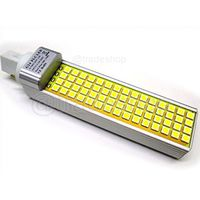 Lampada LED PLC G24 220V 12W SMD 5050 Bianco 6500K FREDDO E BIANCO CALDA