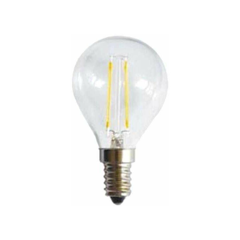 Lampada Led Sfera Stick E14 W 2 2700°K - Shot