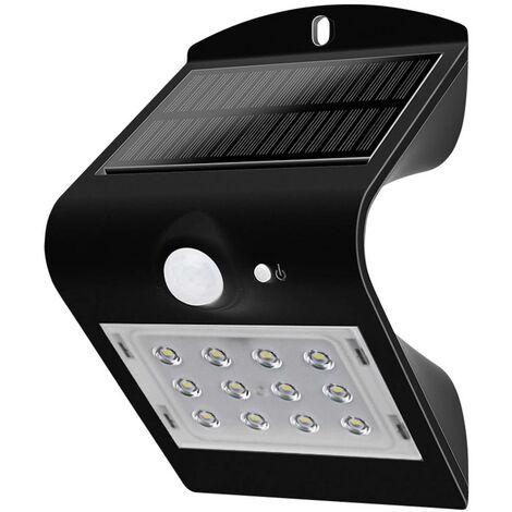 Lampada LED Solare da Muro a Batteria 1,5W