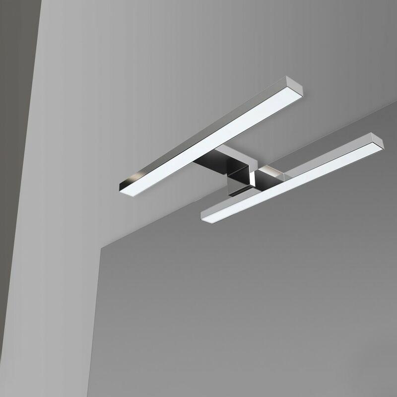 Inbagno - Lampada LED Universale per Specchio a Filo o Pannello da 30 cm luce naturale