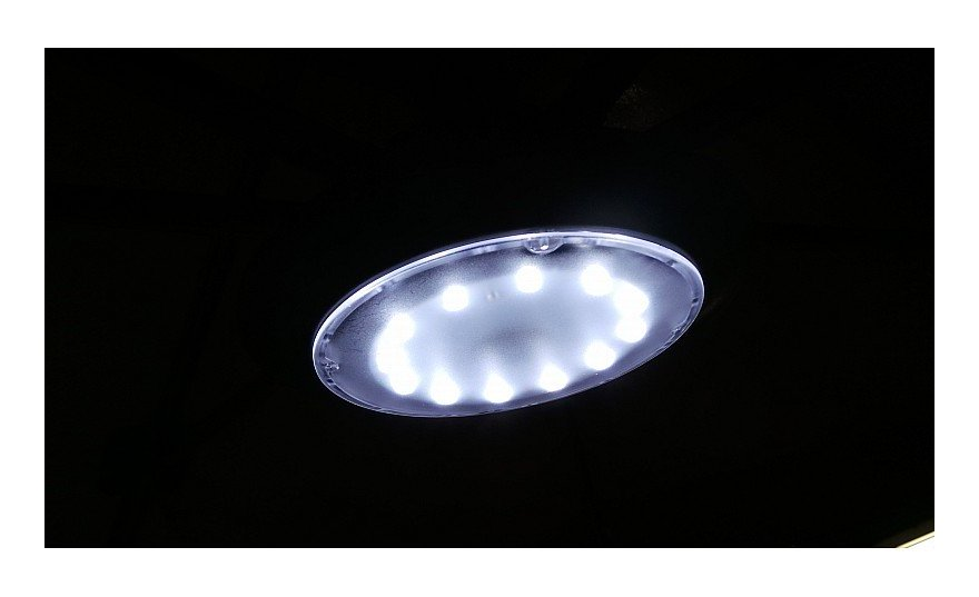 Lampada luce led con telecomando per ombrelloni da giardino esterno